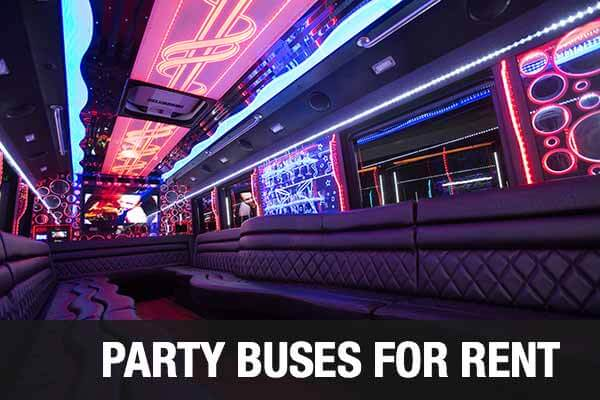 Wedding Transportation Party Bus Pittsburgh
